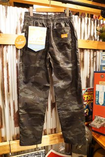 Cookman Chef Pants (「Ripstop」 Camo Black Woodland)