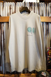 MISFIT SHAPES SUN SHOWERS LS TEE (WASHED GRAY)