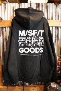 MISFIT SHAPES HARD GOODS HOOD (WASHED BLACK)