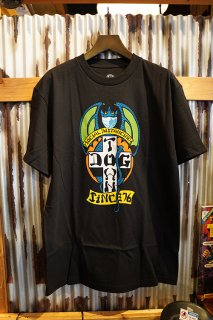 DOGTOWN Social Distancing T-shirt (Black)