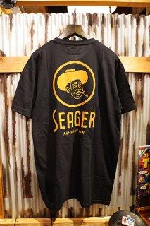 SEAGER RAMBLIN MAN TEE (BLACK)