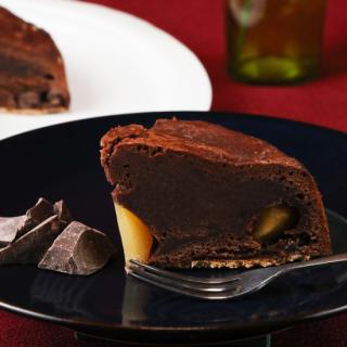 チョコ好きも認める和菓子職人のこだわりの「満月チョコカステラ」