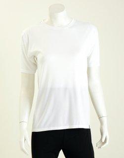 【人気商品】コンフォータブルレディス半袖シャツ NANOMIX 乾燥肌 敏感肌