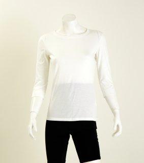 【人気商品】Uネック7分袖Tシャツ  NANOMIX お肌うるおう肌着 乾燥肌 敏感肌