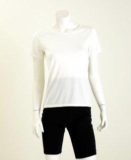 【人気商品】Uネック半袖Tシャツ  NANOMIX お肌うるおう肌着 乾燥肌 敏感肌