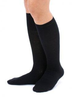 【履いてもかゆくならない靴下】女性のデリケート肌におすすめのハイソックス(ナノミックス)【チクチクしない】【洗っても効果持続】【乾燥肌】【敏感肌】【国産生地使用】
