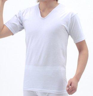 【着るだけでかゆみに効果大!】デリケート肌な男性におすすめの半袖インナーシャツ(ナノミックス)【チクチクしない】【洗っても効果持続】【乾燥肌】【敏感肌】【国産生地使用】