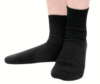 【履いてもかゆくならない靴下】女性のデリケート肌におすすめのクルーソックス(ナノミックス)【チクチクしない】【洗っても効果持続】【乾燥肌】【敏感肌】【国産生地使用】