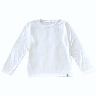 【人気商品】コンフォータブルキッズ長袖Tシャツ NANOMIX 乾燥肌 敏感肌 さらさら素肌ちゃん