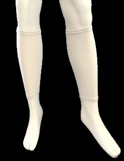 日本製 ふくらはぎサポーター ナノミックス 2枚 日本アトピー協会推薦品 乾燥肌 敏感肌 かゆくならない ムレない 消臭抗菌 吸水速乾 加圧 立ち仕事