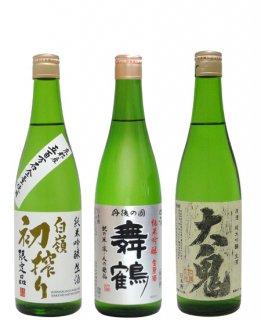 【送料無料3本セット】純米吟醸 冬の生酒 720ml