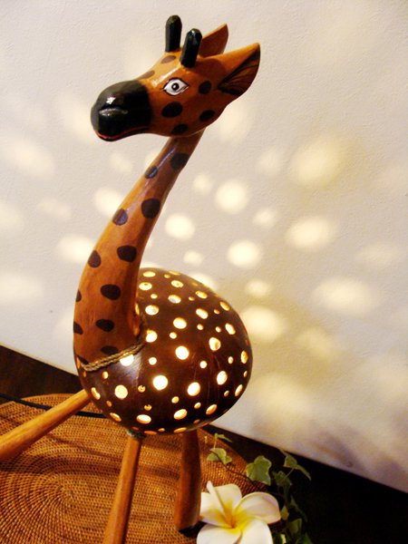 キリンのココナツランプ