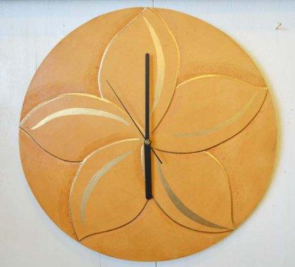 プルメリア壁掛け時計