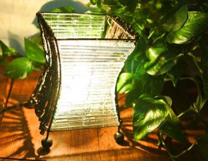 【7月中旬入荷予定】ココ枝とガラスのランプS