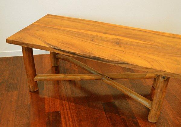AR原木テーブル100cm