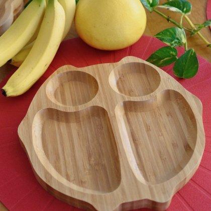バンブープレート(食器)フクロウ