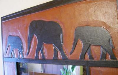 ゾウのミラー L