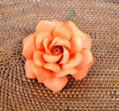 ローズレインボー(造花)オレンジ