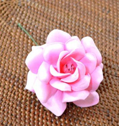 ローズレインボー(造花)ピンク