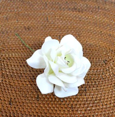 ローズレインボー(造花)ホワイト
