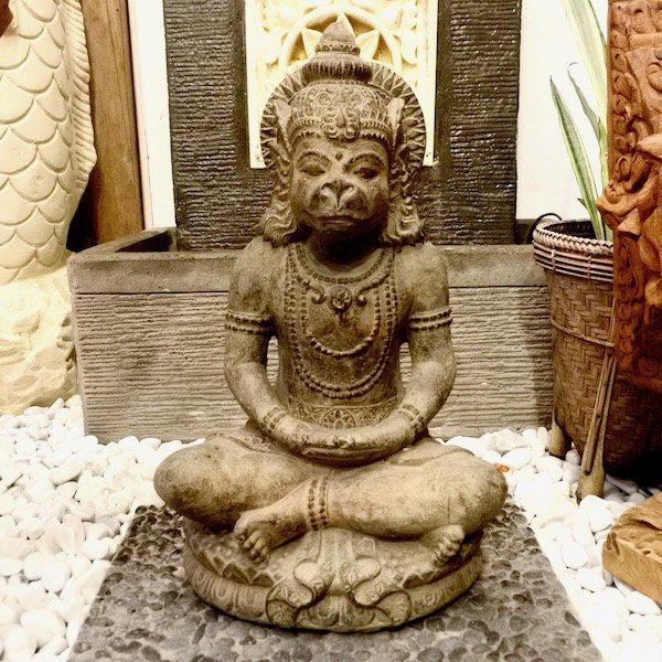 【5月上旬入荷予定】ハヌマーンの石像