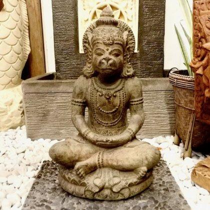 【7月上旬入荷予定】ハヌマーンの石像