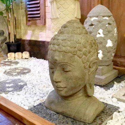 【10月下旬入荷予定】ブッダの石像