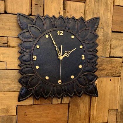 アウラ彫刻壁掛け時計