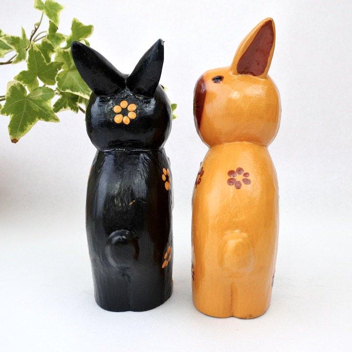 ハートペアウサギ