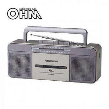 オーム電機 AudioComm USBラジオカセットレコーダー【RCS-U800M】