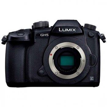 <img class='new_mark_img1' src='https://img.shop-pro.jp/img/new/icons61.gif' style='border:none;display:inline;margin:0px;padding:0px;width:auto;' />パナソニック Panasonic ミラーレス一眼カメラ「LUMIX GH5」ボディ ブラック 送料無料【DC-GH5-K】
