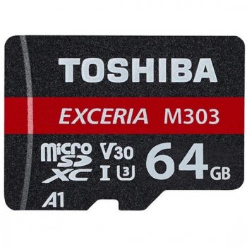 <img class='new_mark_img1' src='https://img.shop-pro.jp/img/new/icons30.gif' style='border:none;display:inline;margin:0px;padding:0px;width:auto;' />東芝 TOSHIBA microSDXCカード EXCERIA(エクセリア) 64GB /Class10 【MUH-E064G】