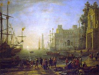 ヴィラ・メディチのある港