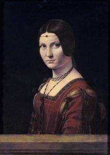 女性の肖像  原画同寸