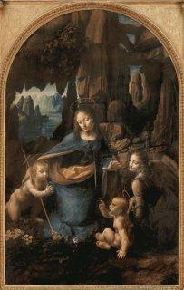岩窟の聖母 ロンドン・ナショナル・ギャラリー所蔵作品