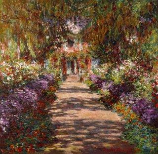 モネの庭の小路、ジヴェルニー  在庫あり 最短3営業日で発送