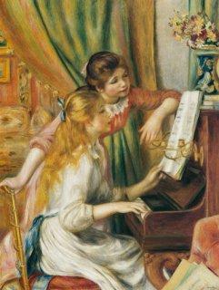 ピアノに寄る少女達  在庫あり 最短3営業日で発送