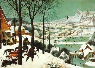 雪中の狩人  在庫あり 最短3営業日で発送