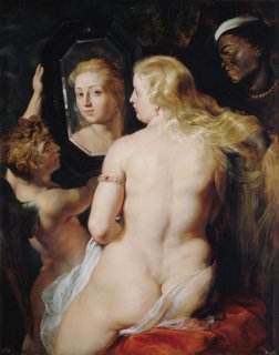鏡の前のヴィーナス