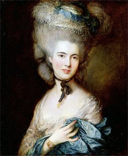 青い服の女性(ブフォー公爵夫人)