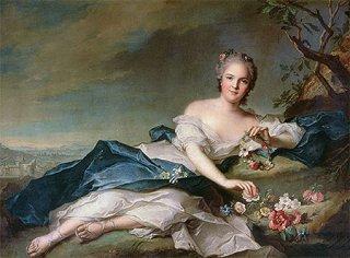 フローラに扮した王女アンリエット