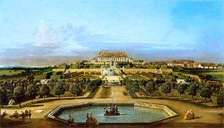 シェーンブルン宮殿、庭園の眺め