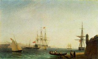 ヴァレッタの港、マルタ
