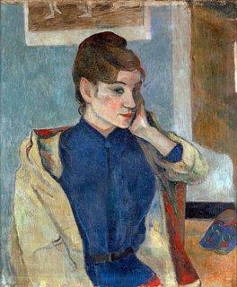 マドレーヌ・ベルナールの肖像