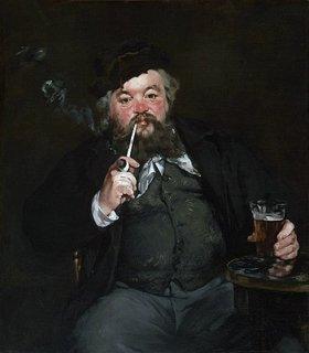 ル・ボン・ボック(銅版画およびリトグラフ作家エミール・ベローの肖像)