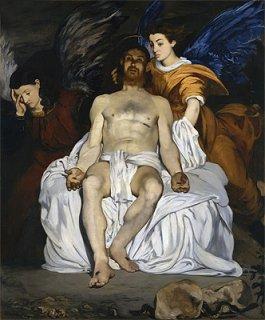 死せるキリストと天使達