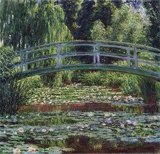 日本の橋と睡蓮の池、ジヴェルニー