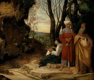 風景の中にいる三人の哲学者
