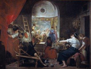 アラクネの寓話(織女たち)
