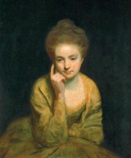 若い女性の肖像